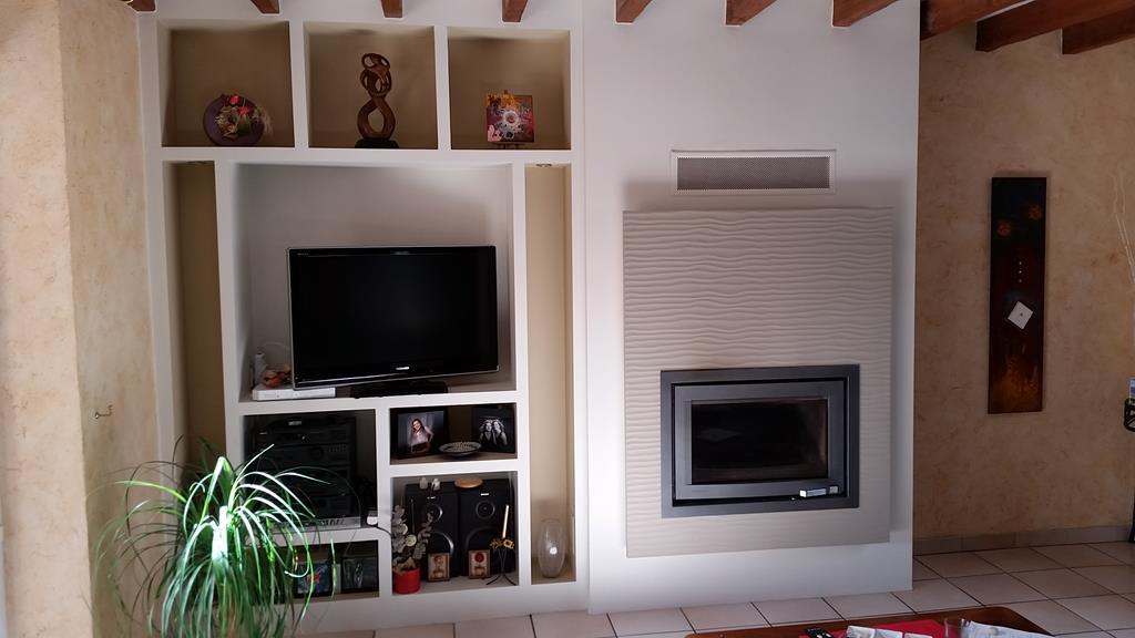 Installation cheminée moderne Carentoir