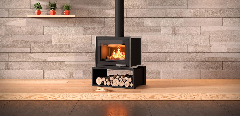 poêle cheminée bois Rennes Redon Bain Guichen